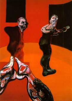 Francis Bacon: Ukrzyżowanie (1)