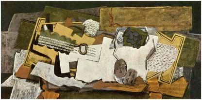 Georges Braque: Martwa natura z gitarą