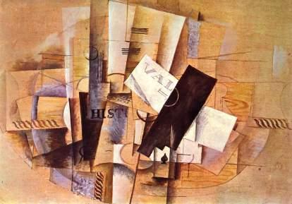 Georges Braque: Stół muzyczny