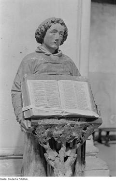 Diakon z Biblią, Katedra w Naumburgu
