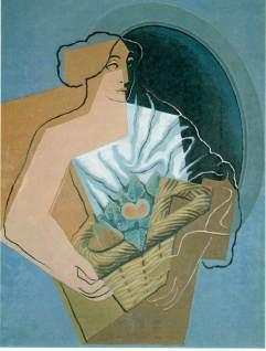Juan Gris: Kobieta z koszem