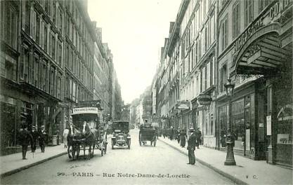 Paryż, rok 1912