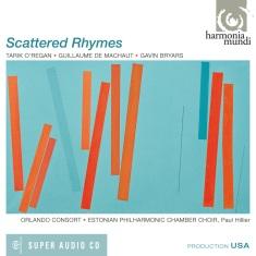 """""""Scattered Rhymes"""" (okładka płyty)"""