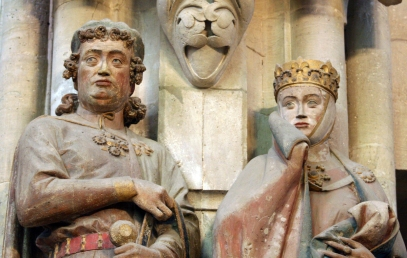 Uta i Ekkehard, katedra w Naumburgu