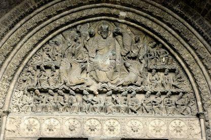 Tympanon, Opactwo de Saint-Pierre w Moissac