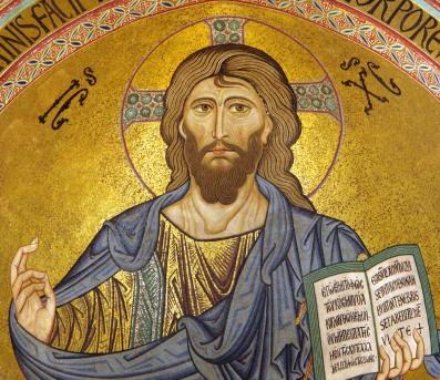 Chrystus Pantokrator (katedra w Cefalu)