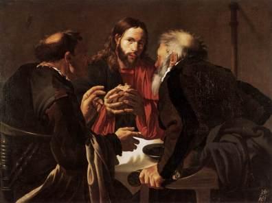 Hendrick Terbrugghen: Wieczerza w Emaus