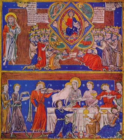 Ewangeliarz, Mistrz angielski, ok. 1220
