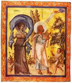 Izajasz (Psałterz Paryski, ok. 920)