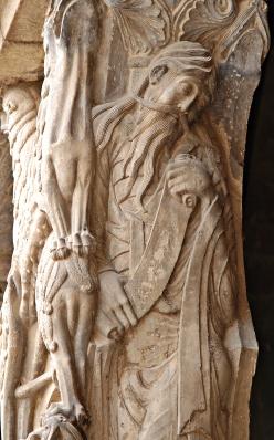 Jeremiasz, portal w opactwie Moissac