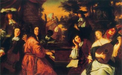 Johannes Voorhout: Buxtehude i Reinken