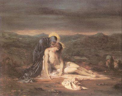 Gustaw Moreau: Pieta