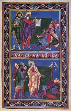 Mistrz Hugo, Mojżesz i Izraelici