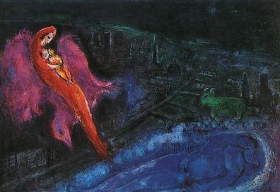 Marc Chagall: Mosty nad Sekwaną
