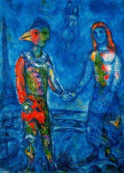 Marc Chagall: Niebo nad Paryżem