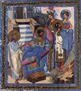 Ezechiel (Psałterz Paryski, ok. 920)