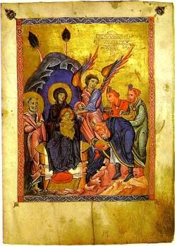 Armeński manuskrypt ilustrowany przez Torosa Roslin (1268)