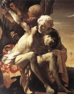 Hendrick Terbrugghen: Święty Sebastian
