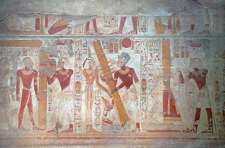 Stela Seti w Abydos