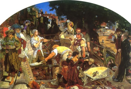 Ford Madox Brown: Praca