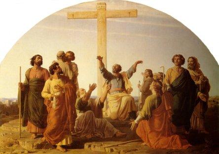 Charles Gleyre: Apostołowie wyruszający na głoszenie Ewangelii