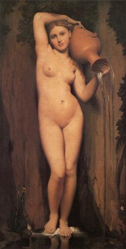 Jean Auguste Dominque Ingres: Źródło życia