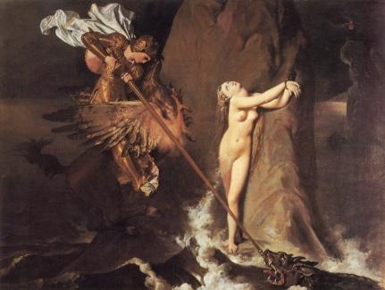 Jean Auguste Dominque Ingres: Roger uwalniający Angelikę
