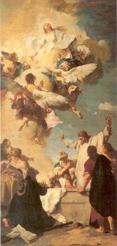 Giovanni Battista Piazzetta: Wniebowzięcie Maryi