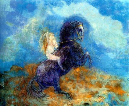 Odilon Redon: Brunhilda