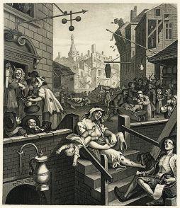 William Hogarth: Gin Lane