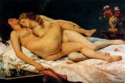 Gustaw Courbet: Le Sommeil