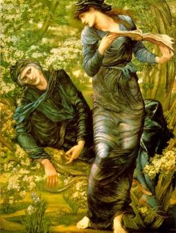 Edward Burne-Jones: Oczarowanie Merlina