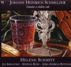 Johann Heinrich Schmelzer (okładka płyty)