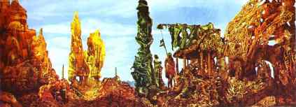 Max Ernst: Europa po deszczu