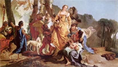 Giovanni Battista Tiepolo: Odnalezienie Mojżesza
