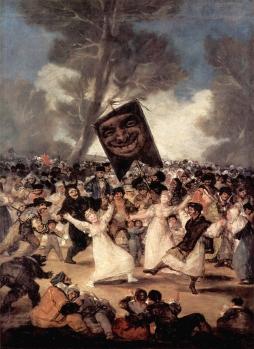Francisco Goya: Pogrzeb sardynki