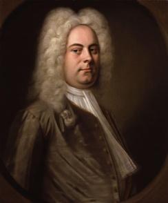 Jerzy Fryderyk Händel (portret Balthasara Dennera)