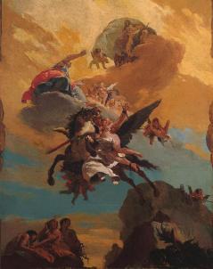 Giovanni Battista Tiepolo: Perseusz i Andromeda
