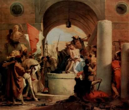 Giovanni Battista Tiepolo: Cierniem koronowanie
