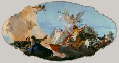Giovanni Battista Tiepolo: Gloryfikacja rodu Barbaro