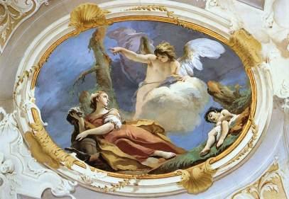 Giovanni Battista Tiepolo: Hagar na pustyni
