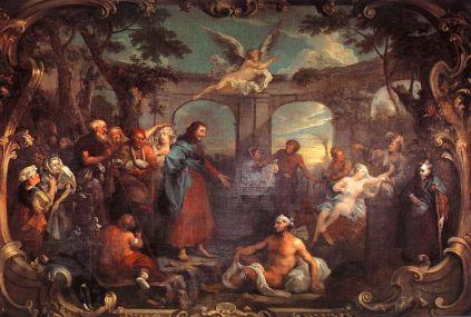 William Hogarth: Sadzawka Betsaida