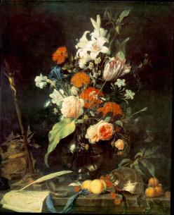 Jan Davidsz de Heem: Kwiaty