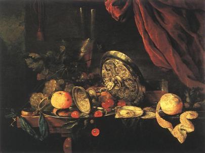 Jan Davidsz de Heem: Martwa natura