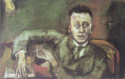 Karl Kraus według Oskara Kokoschki
