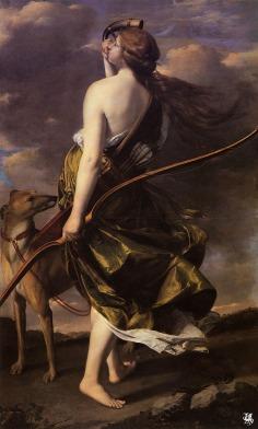Orazio Gentileschi: Diana
