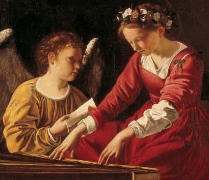 Orazio Gentileschi: Święta Cecylia