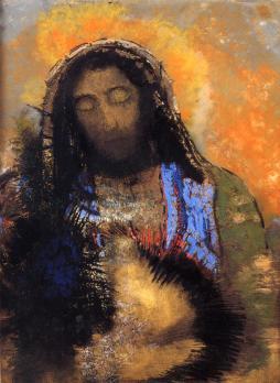 Odilon Redon: Serce Jezusa