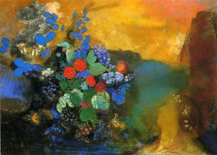 Odilon Redon: Ofelia wśród kwiatów