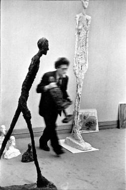 Alberto Giacometti - fotografia Cartiera Bresson